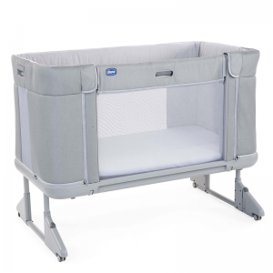 Chicco Next2Me Forever Side Sleeping Cot- Cool Grey