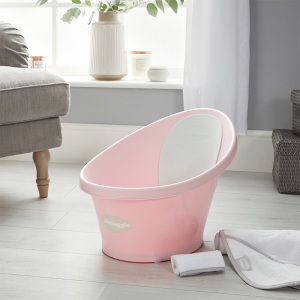 Shnuggle Bath With Plug- Rose