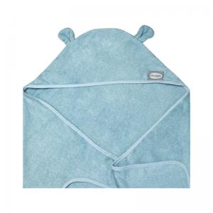 Shnuggle Wearable Baby Towel With Ears- Blue