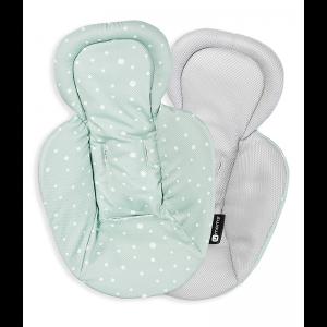4moms MamaRoo Reversible Newborn Insert - Cool Mesh Green/Grey