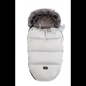 Bizzigrowin Nanook Footmuff-Glacier Grey