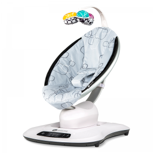 4moms® MamaRoo 4.0 Rocker/Bouncer- Silver Plush