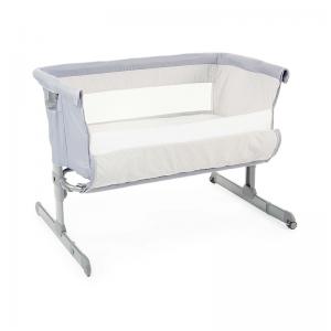 Chicco Next2Me Side Sleeping Crib- Grey